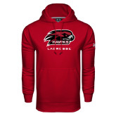 Under Armour Cardinal Performance Sweats Team Hoodie-Lacrosse