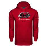 Under Armour Cardinal Performance Sweats Team Hoodie-Cross Country