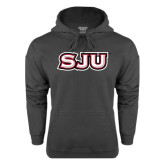 Charcoal Fleece Hood-SJU