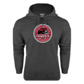 Charcoal Fleece Hood-Saint Josephs University Circle