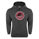 Charcoal Fleece Hoodie-Saint Josephs University Circle