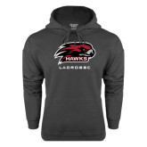 Charcoal Fleece Hood-Lacrosse