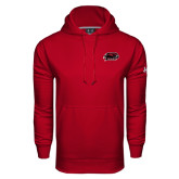 Under Armour Cardinal Performance Sweats Team Hoodie-Hawk Head w/ Hawks