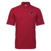Cardinal Mini Stripe Polo-Hawk Head w/ Hawks