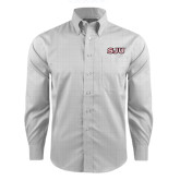 Red House Grey Plaid Non Iron Long Sleeve Shirt-SJU