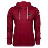 Adidas Climawarm Cardinal Team Issue Hoodie-Hawk Head w/ SJU
