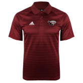 Adidas Climalite Cardinal Jaquard Select Polo-Primary Mark