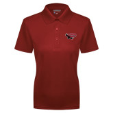 Ladies Cardinal Dry Mesh Polo-Primary Mark