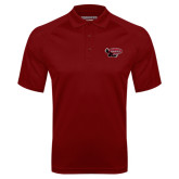 Cardinal Textured Saddle Shoulder Polo-Primary Mark
