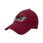 Cardinal Twill Unstructured Low Profile Hat-Hawk Head w/ SUJ
