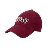 Cardinal Twill Unstructured Low Profile Hat-SJU