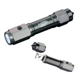 's Heavy Duty Black Flashlight/Emergency Tool-Primary Mark Engraved
