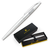 Cross ATX Pure Chrome Rollerball Pen-SJU Engraved