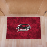 Full Color Indoor Floor Mat-Hawk Head w/ Hawks
