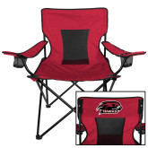 Deluxe Cardinal Captains Chair-Hawk Head w/ Hawks
