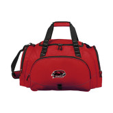 Challenger Team Cardinal Sport Bag-Hawk Head w/ Hawks