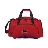 Challenger Team Cardinal Sport Bag-Hawk Head w/ Hawks