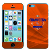 iPhone 5c Skin-2017 Southland Conference Baseball Champions