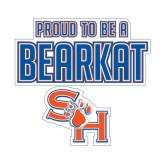 Medium Decal-Proud To Be A Bearkat