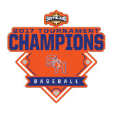 Medium Decal-2017 Southland Conference Baseball Champions