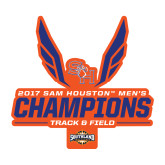 Medium Decal-2017 Southland Conference Mens Track and Field
