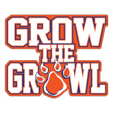 Large Decal-Grow the Growl, 12in Tall