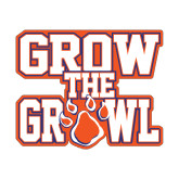 Small Decal-Grow the Growl, 6in Tall