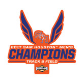 Small Decal-2017 Southland Conference Mens Track and Field