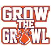 Extra Large Decal-Grow the Growl, 18in Tall