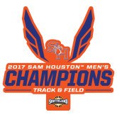 Extra Large Decal-2017 Southland Conference Mens Track and Field