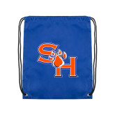 Royal Drawstring Backpack-SH Paw Official Logo