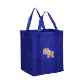 Non Woven Royal Grocery Tote-SH Paw Official Logo