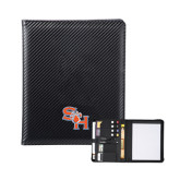 Carbon Fiber Tech Padfolio-SH Paw Official Logo
