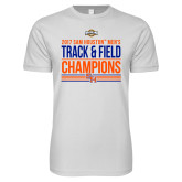 Next Level SoftStyle White T Shirt-2017 Southland Conference Mens Track and Field