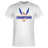 White T Shirt-2017 Southland Conference Mens Track and Field