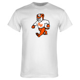 White T Shirt-Bearkat Full Body