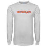White Long Sleeve T Shirt-Sam Houston Bearkats