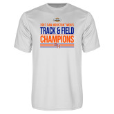 Syntrel Performance White Tee-2017 Southland Conference Mens Track and Field