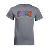 Charcoal T-Shirt-Arched SHSU