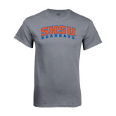 Charcoal T-Shirt-Arched SHSU Bearkats