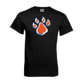 Black T Shirt-Paw