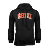 Black Fleece Hood-Arched SHSU