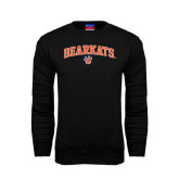 Black Fleece Crew-Arched Bearkats w/Paw