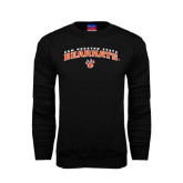 Black Fleece Crew-Arched Sam Houston State Bearkats w/Paw