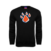 Black Fleece Crew-Paw