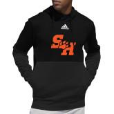 Adidas Black Team Issue Hoodie-Primary Athletics Mark