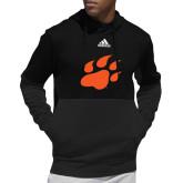 Adidas Black Team Issue Hoodie-Secondary Athletics Mark