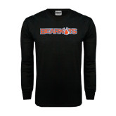 Black Long Sleeve TShirt-Bearkats
