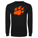 Black Long Sleeve T Shirt-Secondary Athletics Mark