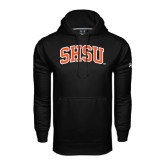 Under Armour Black Performance Sweats Team Hood-Arched SHSU